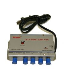 45-862MHz CATV 1 in 4 out Signal Amplifier