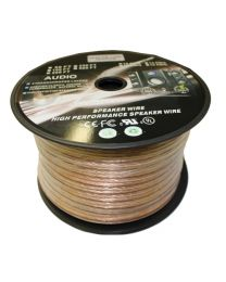 Electronic Master 100 Feet 2 Wire Speaker Cable (8 AWG)
