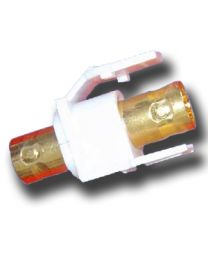 BNC Male Connector Used On Plastic Board