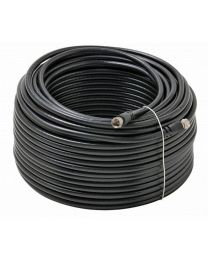 Digiwave RG6 500 Feet Coaxial Cable (Black)